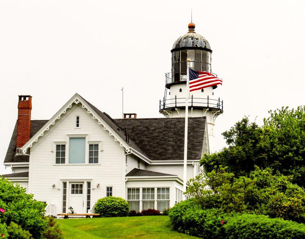 Cape Elizabeth Lighthouse - Two Lights - Cape Elizabeth, Maine Lighthouse