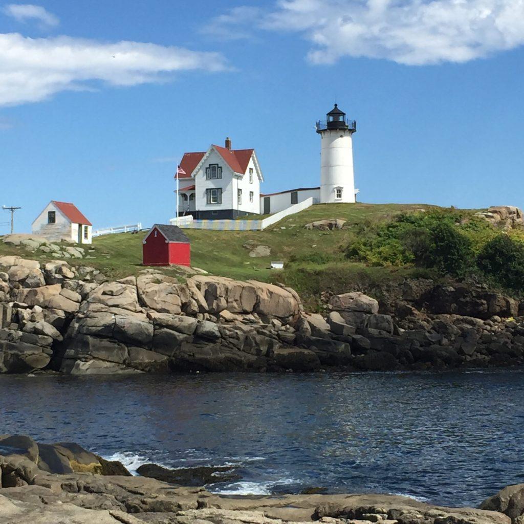 Cape Neddick Light - Nubble Lighthouse - York, Maine Lighthouse