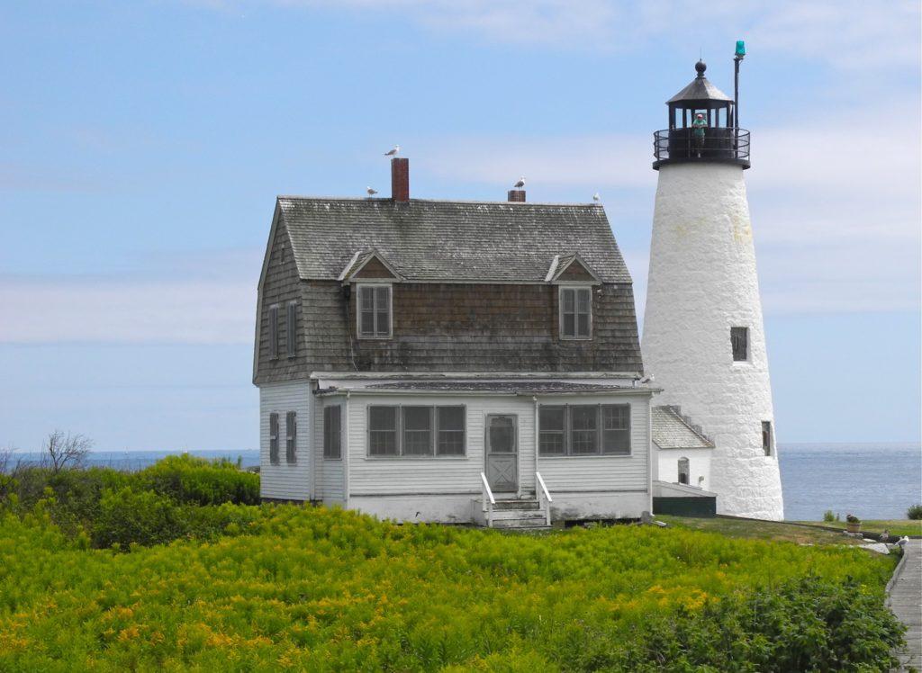 Wood Island Light - Biddeford, Maine Lighthouse